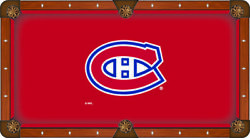 Montreal Canadiens Holland Bar Stool Co. Red Billiard Pool Table Cloth