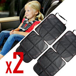 2x Car Infant Baby Safety Seat Mat Back Protector Organizer Pad Cover Cushion