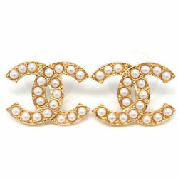 Piercing Ab5052 Coco Cc Pearl Gold With Paper Bag No.5023