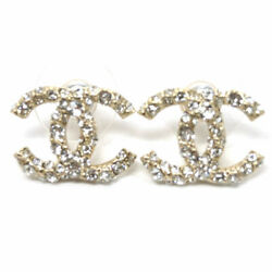 Piercing Ab2145 Coco Cc Clear Rhinestone Gold With Paper Bag No.5012