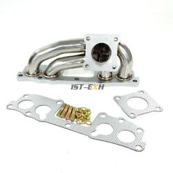 Turbo Exhaust Manifold For 85-89 2.4l Toyota Pickup 4 Runner 22r-te Engine T-304