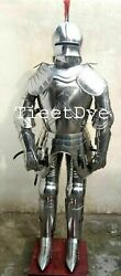 Antique Medieval Gothic Knight Suit Of Armor Best Decorative And Halloween Armor
