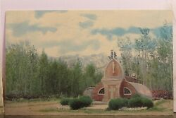 Canada Yukon Haines Junction Northern Church Postcard Old Vintage Card View Post