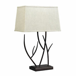 Dimond Winter Harbour Hammered Iron Table Lamp In Bronze D2209