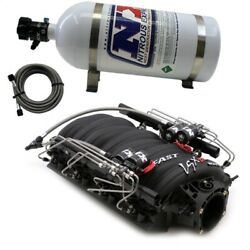 Nitrous Express Fast 102 Intake Manifold For Cathedral Port Heads W/nx Shark