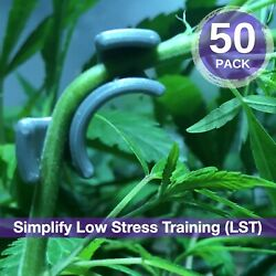 Cannabis Garden Lst Clips - Grow Tent Low Stress Training - Hydro Accessories