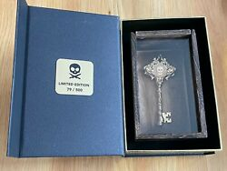 Peter Mckinnon 24k Gold Plated Skeleton Key Petes Pirate Life Limited Edition