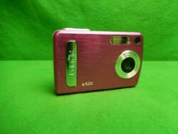 Polaroid A520 5.1mp Digital Camera - Pink Tested And Working