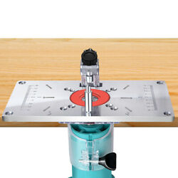 Multifunctional Router Table Insert Plate Woodworking Benches Woodworking Tool-