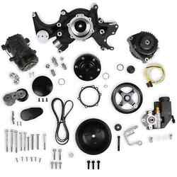 Holley 20-240bk Small Block Chevy Mid-mount Complete Accessory Drive Kit Fits Ge