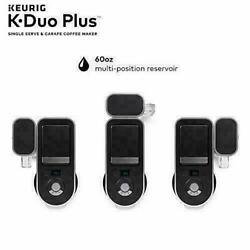 New Keurig K-duo Plus Coffee Maker With K-cup Pods And Single Serve Compatible