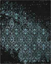 Nourison 7and0399 X 9and0399 Opaline Midnight Blue Rectangle Area Rug