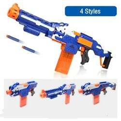 Toy Gun Plastic Electric Soft Bullet Bursts For Outdoor Nerfed Gun Sniper Rifle