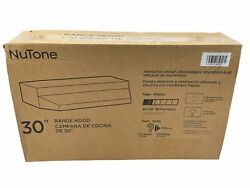 New Rl6200 Series 30 In. Ductless Under Cabinet Range Hood With Light Black
