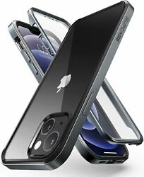 For Iphone 13, Supcase Edgepro Metal Frame Case Built-in Screen Protector Cover