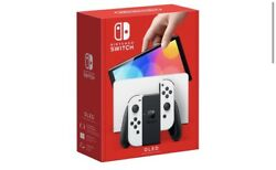 Nintendo Switch Oled Model With White Joy-con Confirmed Order Pre-sale