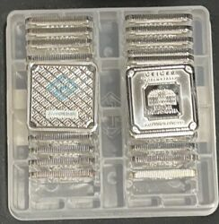 1 Oz Geiger Silver Bar Security Line Series - Case Of 30 Silver Bars