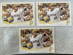 2013 Gerrit Cole Topps Update Rookie Rc 150 Lot Of 3 Mint Nicely Centered
