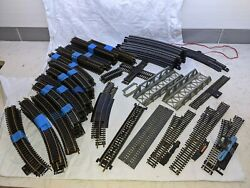 Atlas Bachmann Mixed Lot Of Ho Scale Train Track Vintage Bridge Straight Curved