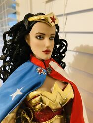 """Tonner Dc Stars Wonder Woman 17"""" Deluxe Limited Edition Doll 🔥rare 🔥"""