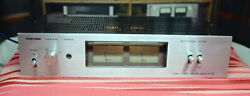 Toshiba Sc-335 Power Amplifier. Classic Silver Face Unit With Analog Watt Meter