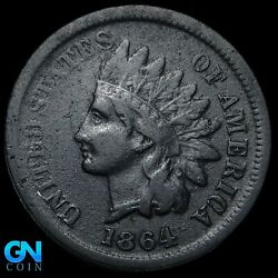 1864 L Indian Head Cent Penny -- Make Us An Offer K8268