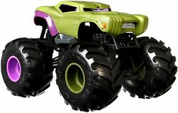 Hot Wheels Monster Trucks 124 Scale Vehicles, Collectible Die-cast Metal Toy