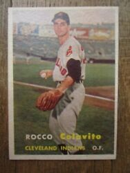 1957 Topps Rocco Rocky Colavito Rookie Card 212-cleveland Indians-nmt