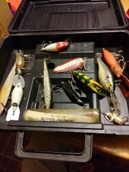 Old Tackle Box With Lures