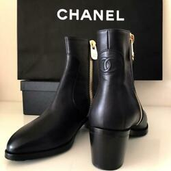 Short Boots 24 24.5 37.5 From Japan Fedex No.4379