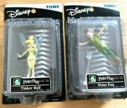Disney Peter Pan Tinker Bell Figure Ornament Tomy Magical Collection Rare Nm