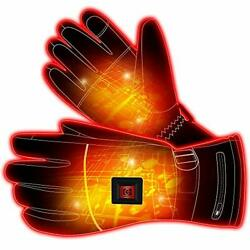 Electric Battery Heated Gloves For Women Men,touchscreen Texting Water-resistant