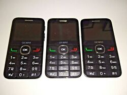 Lot Of 3 Alcatel 2008g Phones- Not Working Good- For Parts- Good Batterys