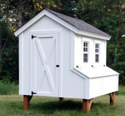 Custom Quality Built Chicken Coop. Color Is Your Choice.