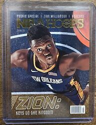 2019-20 Hoops Rookie Special Spec1 Zion Williamson Sp Keys To The Kingdom Rc