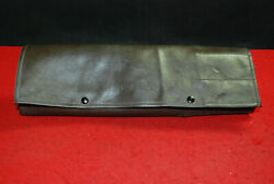 Porsche 911 Sc Late 70-early 80s Vintage Brown Leather Tool Bag Factory Original