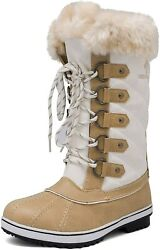 Dream Pairs Womenand039s Mid-calf Winter Snow Boots