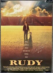 Rudy Ruettiger Autographed Signed Rudy Movie Poster