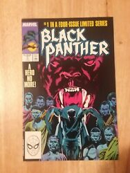 Black Panther #1 of 4 Part Limited Series Marvel Comics 1988 VF NM
