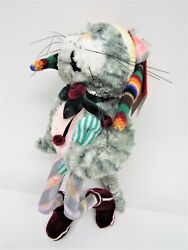 Clayworks Blue Sky Christmas Collection - Charlie The Cat - Plush, So Cute