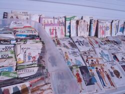 Vintage Sewing Patterns Huge Lot Of 150 Pieces,kwik Sew,mccalls,simplicity,butte
