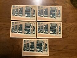 5 Pittsburgh Pennsylvania Unger's Jewelers 1940s Curteich Varicolor Postcards