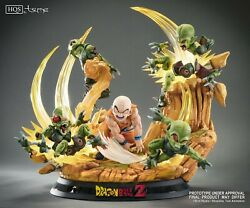 Tsume Hqs High Quality Statue Dragon Ball Z Chapter 0 Heroes In Terror Krillin