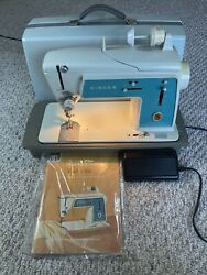 Vintage Singer Touch Sew Sewing Machine Deluxe Zig Zag Model