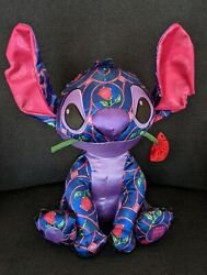 Stitch Crashes Disney Beauty And The Beast Plush No Tag