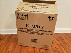Open Box Keurig K-2500 Commercial Coffee Maker And Water Reservoir