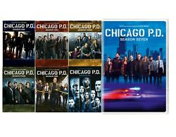 Chicago Pd The Complete Series Seasons 1-7 Dvd Usa Free Shipping