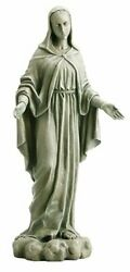 24 Our Lady Of Grace Garden Statue Wc789