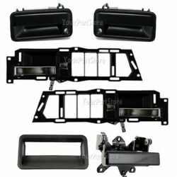 88-94 Chevy Gmc Pu Pickup Truck Inside And Outside Door + Tailgate Handles Set