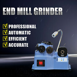 Us 4-20mm Automatic End Face Sharpening Machine Grinding Tools Endmill Grinder